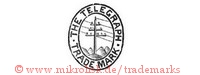 The Telegraph / Trade Mark (mit Telegraphenmast im Oval)