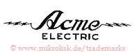 Acme Electric (mit Blitzen)