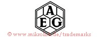 AEG (in Sechsecken)