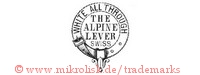 White All Through / The Alpine Lever Swiss (im Hosenband / Gürtel)