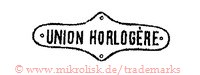 Union Horlogere (in runder Form / Schild)