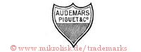 Audemars, Piguet & Co. (im Schild)