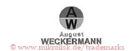 A W / August Weckermann (mit Kreis)