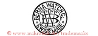 Berna Watch Co / Swiss Made / BW (im Kreis)