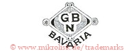 G B N / Bavaria (in Raute)
