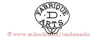Fabrique D Arts (im Oval/Blume)