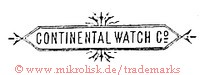 Continental Watch Co. (im Rahmen)