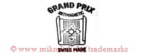 Grand Prix / Antimagnetic / Swiss Made (mit Kreuz auf Blatt / Schild / Wappen)