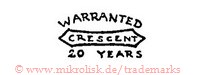 Warranted Crescent 20 Years (mit Banner)