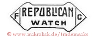 F C / Republican Watch (im Banner/Schild)