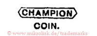 Champion / Coin. (im Banner)