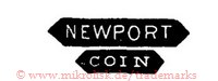 Newport / Coin (in Bannern/Schilden)