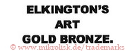 Elkington's Art Gold Bronze. | elkingtons