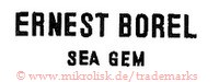 Ernest Borel Sea Gem