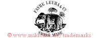 Favre Leuba & Co. / Swiss Made (mit Elefant und Palmen)