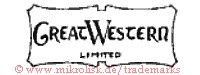 Great Western / Limited (im Schild)