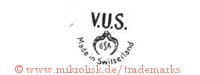 V.U.S. / GSA / Made in Switzerland (mit Zange?)