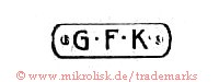 G.F.K. (in runder Form)