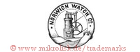 Norwich Watch Co. (im Hosenbandorden mit Motor, Rad) | kreis