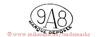 9A8 / Marque Deposee (im Oval)