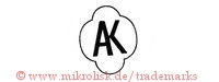 AK (in runter Form / Oval)