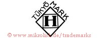 Tukyo Mark / H (im Quadrat in Raute)