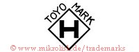Toyo Mark / H (in Raute)