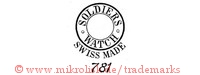 Soldiers Watch / Swiss Made / 781 (im Kreis)