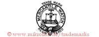 Trade Mark / Mercantile Watch / Registered (im Hosenbandorden/Kreis mit Waage)