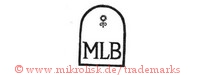 MLB (in Form mit Blume)