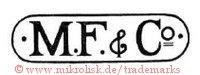 M.F. & Co. (in runder Form / Rechteck) | MF&Co
