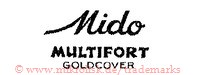 Mido Multifort Goldcover