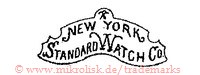 New York Standard Watch Co. (im Schild/Form)