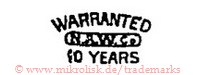 Warranted / N.A.W.Co. / 10 Years
