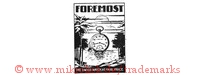 Foremost / The Swiss Watch At Fair Price (im Rechteck mit Taschenuhrm Palmen, Meer)