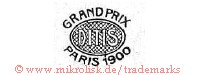 Grand Prix / DITIS / Paris 1900 (im Oval)