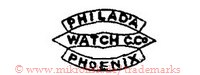 Philad'a Watch C.Co. Phoenix (in Bannern)