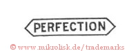 Perfection (in Rechteck/Sechseck/Schild)