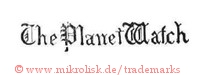 The Planet Watch (in gotischen Lettern)
