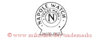 Napole Watch / Trade Mark / N / Swiss Made (im Kreis / Schild)