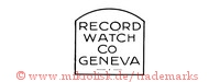 Record Watch Co. Geneva (in Form)
