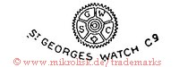 S G W C / Saint George's Watch Co. (mit Zahnrad)