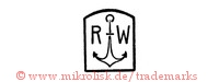 R W (mit Anker in Form)