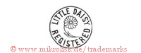 Little Daisy / Registered (mit Blume im Kreis)