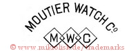 Moutier Watch Co. / M W C (in Rauten)