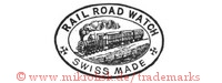 Rail Road Watch / Swiss Made (mit Eisenbahn im Oval)