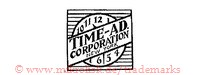 Time-Ad Corporation New York (auf Uhr im Quadrat)