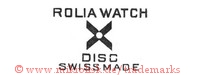 Rolia Watch / Disc / Swiss Made (mit X / Kreuz)