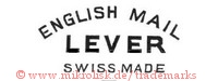 English Mail / Lever / Swiss Made