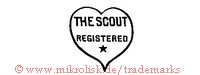 The Scout / Registered (im Herz mit Stern)